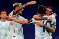 """Messi: """"Poder volver a jugar con la Selección y darle una alegría a la gente con la victoria, más allá del juego, sirve para descomprimir un poco"""