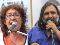 Los referentes del sindicato de docentes nacionales de CTERA Sonia Alesso y Roberto Baradel advirtieron por la apertura de escuelas de manera presencial.