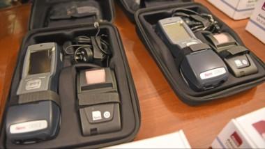 Los equipos para el narcotes que fueron adquiridos a través de la compra del Ministerio de Seguridad.