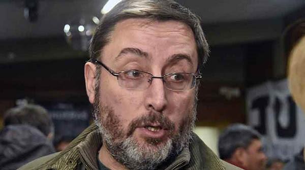 """Raúl """"Bulin"""" Fernández, dirigente peronista de Esquel."""