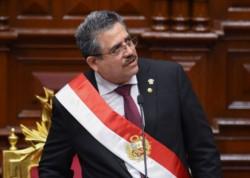 El presidente interino de Perú, Manuel Merino, también ha sido cuestionado por hechos de corrupción.