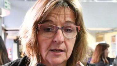 Dirigente gremial de ATECH, Marcela Capón.