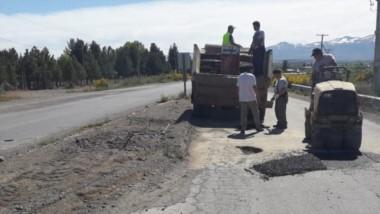 las labores de mantenimiento en las rutas provinciales se realizan desde  el viernes pasado.