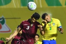 Brasil es puntero e invicto con 9 puntos y +8 de gol diferencia, mientras que Venezuela es penúltimo con 0 puntos y -5 de gol diferencia.