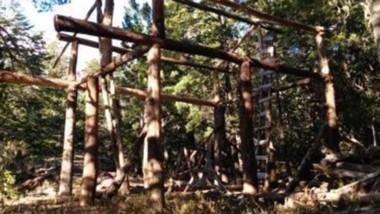 Construcción. El Club Andino denuncia el avance en las tierras.