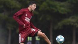 Nacho Fernández recibió el alta médica luego de responder positivamente en el entrenamiento de hoy.