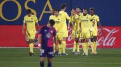 Golpe de autoridad del Villarreal ante un Valladolid que fue de menos a más.