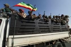 Las fuerzas milicianas de Tigray dispararon sobre una ciudad del norte de Etiopía.
