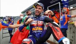 Victoria para Oliveira en la última carrera de la temporada de Moto GP.