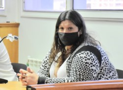Laura Leonor Vargas, autora del delito de homicidio simple de Rosa Acuña.