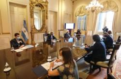 El presidente Alberto Fernández puso en marcha el Comité de Vacunación, que desplegará un plan