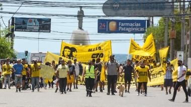 Representantes del movimiento social se hicieron visibles en las calles.