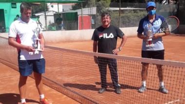 """El """"Nono"""" Nogueira (derecha), se consagró campeón en el San Benito."""