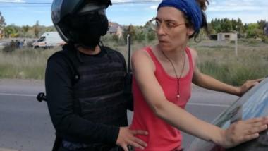 Algunas de las imágenes de las personas detenidas en la ruta 7.