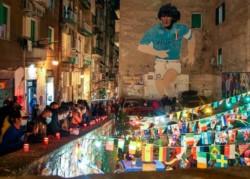 Llora el mundo, llora Nápoles, lloramos todos. Se fue una parte de nosotros, se fue D10S, se fue Diego Maradona.