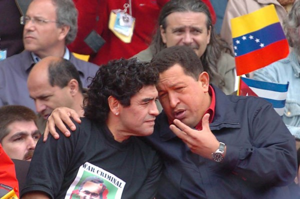 Las posiciones políticas de Diego Maradona a lo largo de su carrera jamás pasaron desapercibidas.