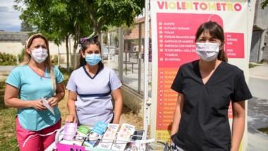 El personal de la salud profundizó las tareas de prevención en el terreno del barrio Pujol.