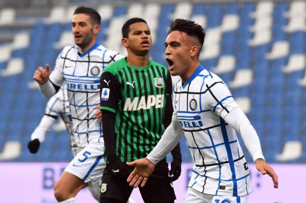 El festejo del Toro. Un triunfo donde Inter siempre estuvo seguro y dominó todo el juego.