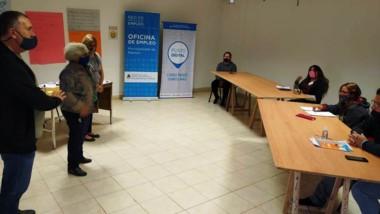La Dirección General de Promoción de Empleo entregó los certificados.