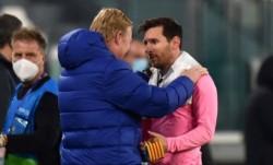 Ronald Koeman salió en defensa de Messi tras la explosiva entrevista de Setién.