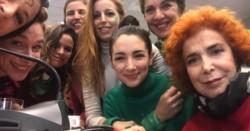El colectivo de Actrices Argentinas reclamó este martes que se debata y apruebe el proyecto de Interrupción Legal del Embarazo (ILE). (Archivo)
