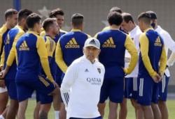 Miguel Ángel Russo le comunicará el equipo inicial a los jugadores minutos antes del partido.