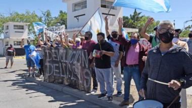 Queja. La manifestación se repetirá todas las semanas hasta que haya una respuesta del nivel nacional.