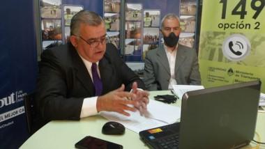 Leonardo Das Neves de Seguridad Vial en diálogo con los diputados.