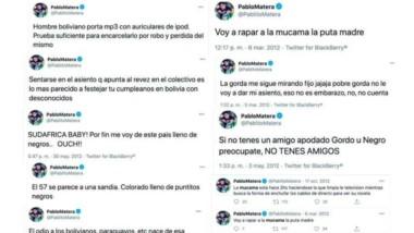 Se encontraron viejos tuits que Pablo Matera, capitán de Los Pumas, escribió. Repudio y enojo.