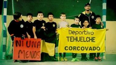 Deportivo Tehuelches, de Corcovado, también recibió el aporte.