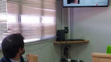 La audiencia se desarrolló mediante video conferencia y presencial.
