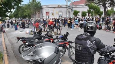 Desde el municipio repudiaron los actos de violencia que se dieron en el marco de la manifestación.