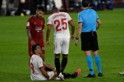 Marcos Acuña fue desafectado por una lesión muscular.