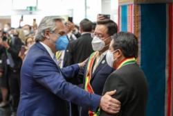El presidente Alberto Fernández viajará  a Bolivia para participar de la asunción del candidato del MAS Luis Arce (foto).