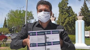 Germán Lalomia, director asociado del hospital Santa Teresita de Rawson, expresó preocupación.