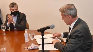 Arcioni y Aguilera confirmaron que el Interconectado avanzará.