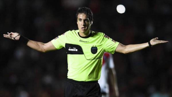 Pablo Echavarría es el árbitro designado para el partido entre River y Godoy Cruz.