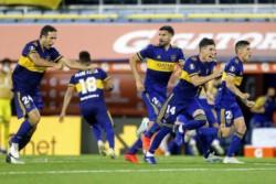 Boca ganó 8 de 11 definición por penales en la Libertadores (5 de 5 ante equipos brasileños).