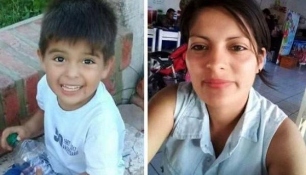 El pequeño Alexis y su madre, Ana Gómez. Imagen gentileza Purmamarca Diario Digital.