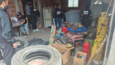 Los elementos habían sido robados en instalaciones destinadas a resguardar elementos de la vida rural.
