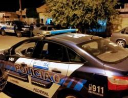 Operativo. La Policía Federal intervino en el domicilio denunciado.