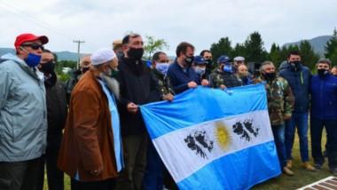 Soberanía. Una postal de un acto que cada año emociona más y que ya trasciende a varias generaciones de argentinos por su legitimidad.