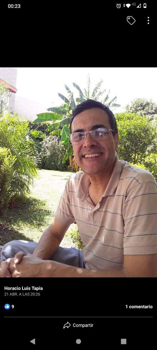 Horacio Luis Tapia, el padre de la joven.