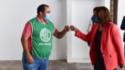 Carreras anunció las fechas del pago del aguinaldo en Río Negro. Foto: Pablo Leguizamón.