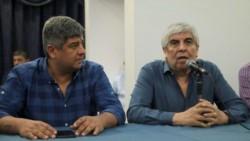 Hugo y Pablo Moyano presentaron hoy una denuncia por supuesta persecución política y judicial contra el expresidente Mauricio Macri.