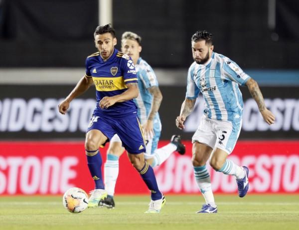 Eduardo Salvio 5 goles en la Copa, comparte el 2º puesto entre los goleadores, junto a Julián Álvarez, de River.