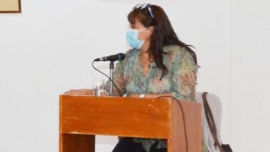 La concejala Lis Aguirre  indicó que ese es el cuadro de situación.