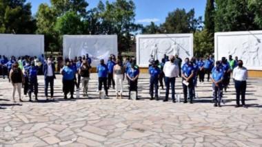 Contención. El municipio hizo un acto para distinguir a los miembros de la Guardia Urbana por su labor.