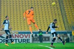 Con un doblete de Cristiano Ronaldo, un tanto de Kulusevski y otro de Morata, la Juventus goleó al Parma.