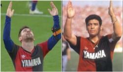 Apenas siete años tenía Messi cuando la revolución Maradona llegó a Newell's. Diego jugó siete partidos en la Lepra e hizo historia.